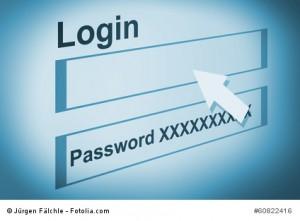 Benutzername und Passwort sicher wählen