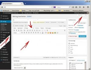 jQuery wird im WordPress Dashboard nicht korrekt eingebunden