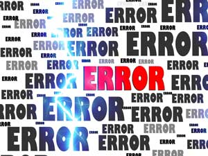 Wordpress Fehler - WordPress-Error - WordPress-Failure